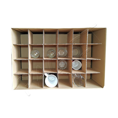 "Five-ply cardboard box ""L"" (glasses)"