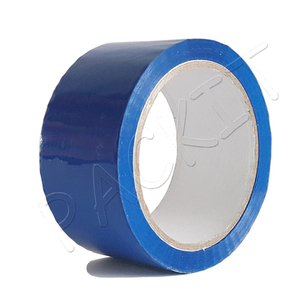 Blue packing tape